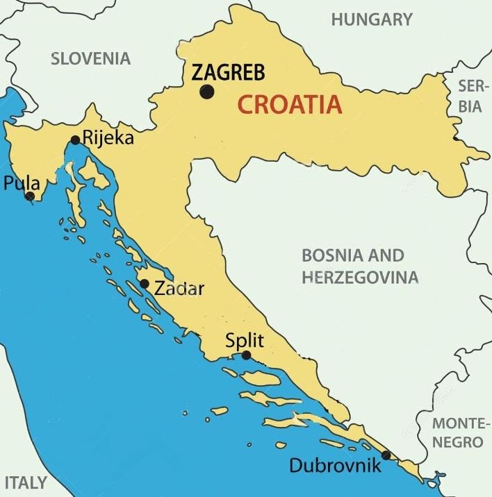 Cartina Zagabria.Www Forvezeta It